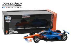 Honda  - 2020 blue/orange - 1:18 - GreenLight - 11091 - gl11091 | The Diecast Company