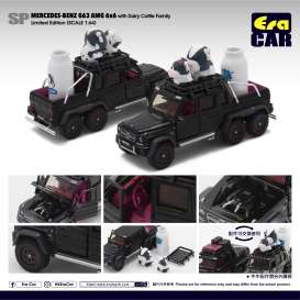 Mercedes Benz  - G63 AMG 6x6 2019 black/white - 1:64 - Era - MB196x6SP07 - Era196x6SP07 | The Diecast Company