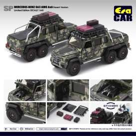 Mercedes Benz  - G63 AMG 6x6 2019 camouflage - 1:64 - Era - MB196x6SP07 - Era196x6SP08 | The Diecast Company