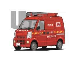 Suzuki  - Every  2010 red - 1:64 - Era - 180803RF - Era19EVERN10 | The Diecast Company