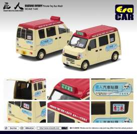 Suzuki  - Every Bus 2018 cream/red - 1:64 - Era - 19EVESP09 - Era19EVESP09 | The Diecast Company