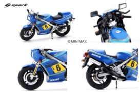 Yamaha  - 1985 blue - 1:12 - Spark - m12060 - spam12060 | The Diecast Company