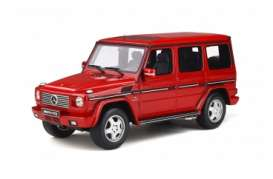 Mercedes Benz  - G-Classe 2003 red - 1:18 - OttOmobile Miniatures - ot867 - otto867 | The Diecast Company