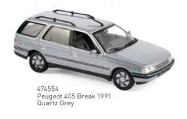 Peugeot  - 1991 grey - 1:43 - Norev - 474554 - nor474554 | The Diecast Company