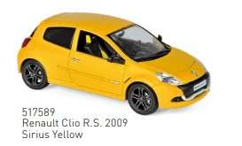 Renault  - Clio 2019 yellow - 1:43 - Norev - 517589 - nor517589 | The Diecast Company