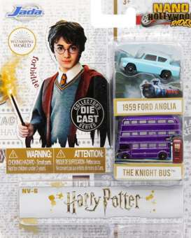 Assortment/ Mix  - Harry Potter various - Jada Toys - 31719 - jada31719 | The Diecast Company