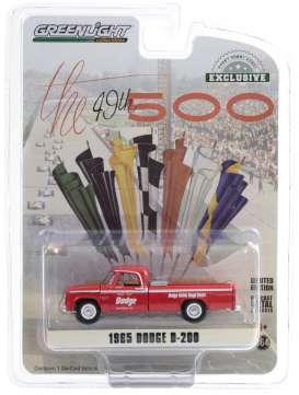 Dodge  - D-200 1965 red - 1:64 - GreenLight - 30184 - gl30184 | The Diecast Company