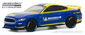 Ford  - Shelby 2019 blue/yellow - 1:64 - GreenLight - 30186 - gl30186 | The Diecast Company