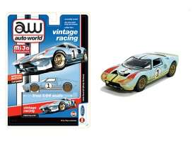 Ford  - GT 1965 blue/orange - 1:64 - Auto World - CP7650 - AWCP7650 | The Diecast Company