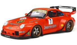 Porsche  - RWB 993 orange - 1:18 - GT Spirit - KJ039 - GTS039o | The Diecast Company