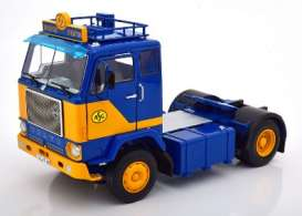 Volvo  - F88 1965 blue/yellow - 1:18 - Road Kings - 180061 - rk180061 | The Diecast Company