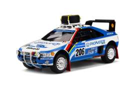 Peugeot  - 405 T16 1989 blue/white - 1:18 - OttOmobile Miniatures - ot876 - otto876 | The Diecast Company