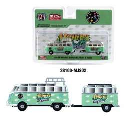 Volkswagen  - Microbus 1959 green/white - 1:64 - M2 Machines - 38100MJS02 - M2-38100MJS02 | The Diecast Company