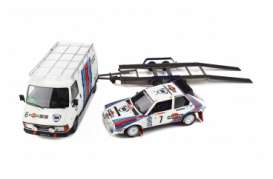 Lancia  - Delta S4 Gr. B. 1986 white/blue - 1:18 - OttOmobile Miniatures - 349 - otto349 | The Diecast Company