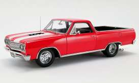 Chevrolet  - El Camino 1965 red/white - 1:18 - Acme Diecast - 1805411 - acme1805411 | The Diecast Company