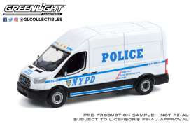 Ford  - Transit 2015  - 1:64 - GreenLight - 53030A - gl53030A | The Diecast Company