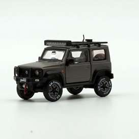 Suzuki  - Jimny 2018 grey - 1:64 - BM Creations - 64B0034 - BM64B0034 | The Diecast Company