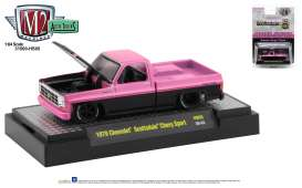 Chevrolet  - Scottsdale 1979 black/pink - 1:64 - M2 Machines - 31500HS05 - M2-31500HS05 | The Diecast Company