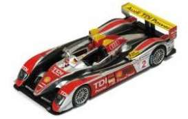 Audi  - 2008 silver/red - 1:43 - IXO Models - lm2008 - spalm2008 | The Diecast Company