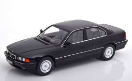 BMW  - 740i E38 1994 black - 1:18 - KK - Scale - 180361 - kkdc180361 | The Diecast Company