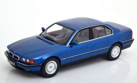 BMW  - 740i E38 1994 blue - 1:18 - KK - Scale - 180362 - kkdc180362 | The Diecast Company