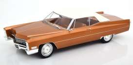 Cadillac  - DeVille  1967 goldbrown metallic - 1:18 - KK - Scale - 180317 - kkdc180317 | The Diecast Company