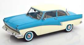 Ford  - Taunus 1957 turquoise/white - 1:18 - KK - Scale - 180272 - kkdc180272 | The Diecast Company