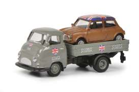Hanomag  - grey/brown - 1:87 - Schuco - 26490 - schuco26490 | The Diecast Company