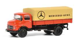 Mercedes Benz  - red - 1:87 - Schuco - 26497 - schuco26497 | The Diecast Company