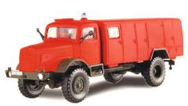 Mercedes Benz  - red - 1:87 - Schuco - 26496 - schuco26496 | The Diecast Company