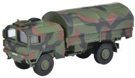 Military Vehicles  - camouflage - 1:87 - Schuco - 26475 - schuco26475 | The Diecast Company