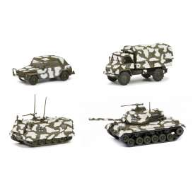 Military Vehicles  - camouflage - 1:87 - Schuco - 26530 - schuco26530 | The Diecast Company