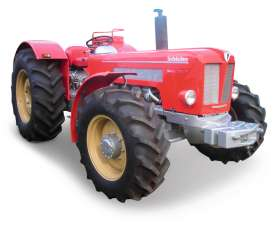 Tractor  - red - 1:32 - Schuco - 9107 - schuco9107 | The Diecast Company