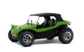 Buggy  - Manx 1968 green - 1:18 - Solido - 1802703 - soli1802703 | The Diecast Company