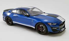 Ford  - Mustang Shelby GT500 2020 blue - 1:12 - Acme Diecast - US023 - GTUS023 | The Diecast Company