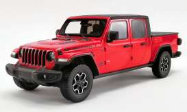 Jeep  - Gladiator 2019 red - 1:18 - Acme Diecast - US024 - GTUS024 | The Diecast Company