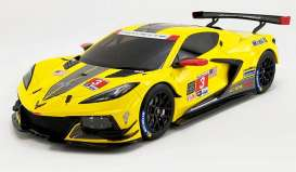 Chevrolet  - Corvette C8-R 2020 yellow/black - 1:18 - Acme Diecast - US032 - GTUS032 | The Diecast Company