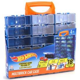 Hotwheels Car Cases  - blue/orange - 1:64 - Hotwheels - HWCC8B - hwmvHWCC8B | The Diecast Company