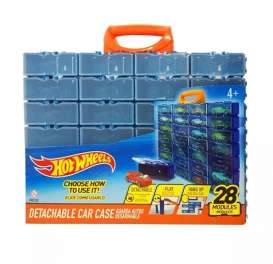 Hotwheels Car Cases  - blue/orange - 1:64 - Hotwheels - HWCC8C - hwmvHWCC8C | The Diecast Company