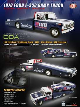 Ford  - F-350 Ramp Truck  - 1:18 - Acme Diecast - 1801406 - acme1801406 | The Diecast Company