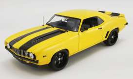 Chevrolet  - Camaro Z/28 1968 yellow/black - 1:18 - Acme Diecast - 1805719 - acme1805719 | The Diecast Company