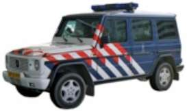 Mercedes Benz  - G-Class blue/white/red - 1:43 - Cararama - 53341 - cara53341 | The Diecast Company
