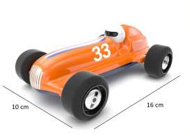 non  - Max Studio Racer orange - Schuco - 9878 - schuco9878 | The Diecast Company