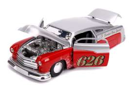 Mercury  - 1951 candy silver/red - 1:24 - Jada Toys - 31454 - jada31454 | The Diecast Company