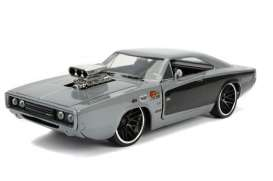 Dodge  - Charger 1969 grey/black - 1:24 - Jada Toys - 31668 - jada31668 | The Diecast Company