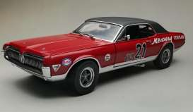 Mercury  - Cougar Racing #21 1967 red/blue - 1:18 - SunStar - 1583 - sun1583 | The Diecast Company