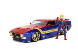 Ford  - Mustang Mach I 2006 red/blue/gold - 1:24 - Jada Toys - 31193 - jada31193 | The Diecast Company