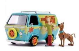 Scooby Doo  - Mystery Machine  light blue/green - 1:24 - Jada Toys - 31720 - jada31720 | The Diecast Company