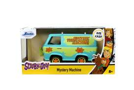 Scooby Doo  - Mystery Machine light blue/green - 1:32 - Jada Toys - 32040 - jada32040 | The Diecast Company