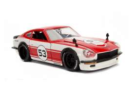 Datsun  - 240Z 1972 red/white - 1:24 - Jada Toys - 99100 - jada99100r | The Diecast Company